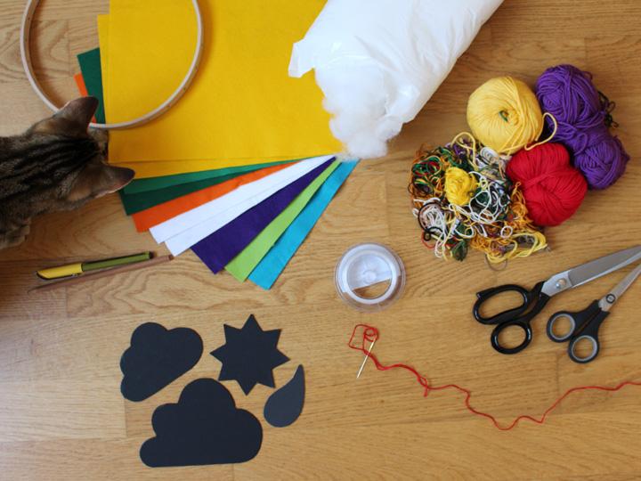 DIY Baby Mobile Material