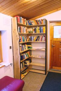 Bücher-Ecke Waldcamping Erzgebirge