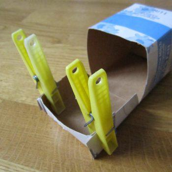 DIY Recycling: Kleinkram-Box - Schritt 3