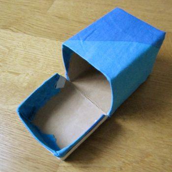 DIY Recycling: Kleinkram-Box - Schritt 4
