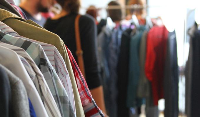Kleidung tauschen beim Kleidertausch