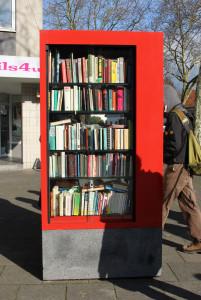 Öffentlicher Bücherschrank Köln-Bocklemuend