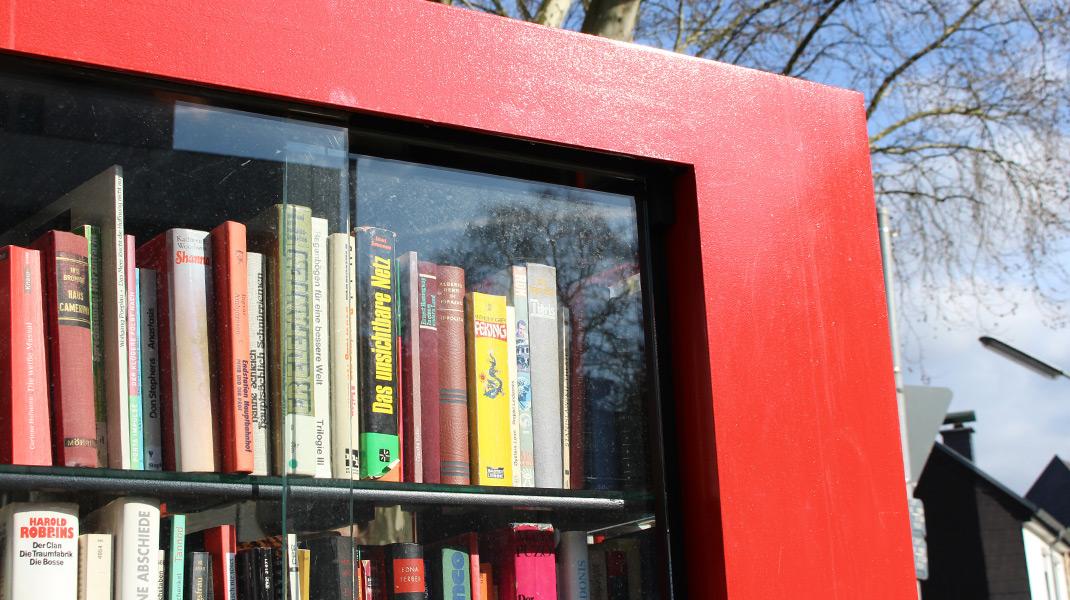 Öffentlicher Bücherschrank Köln